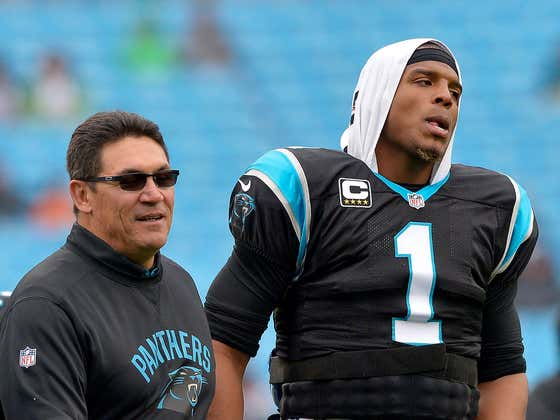 Ron Rivera Is Being Asked About Cam Newton And....Well....He Isn't Ruling Anything Out