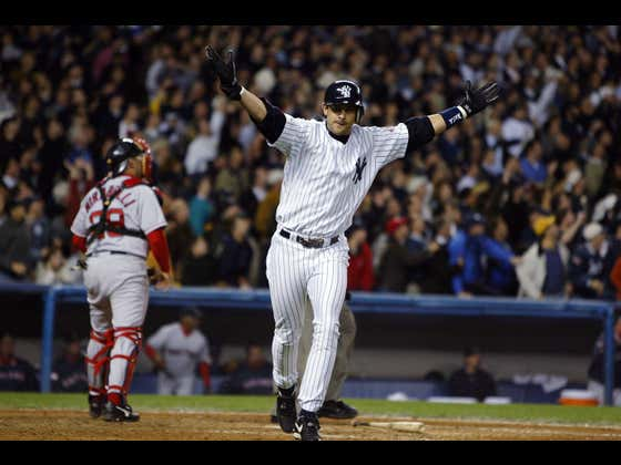 Aaron Boone's Walk-Off Home Run In 2003 Brings Me More Joy Each And Every Day