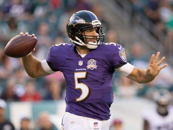 """Cue The """"I'm Coming Home"""" Tribute Videos! Joe Flacco Has Signed With The Philadelphia Eagles"""