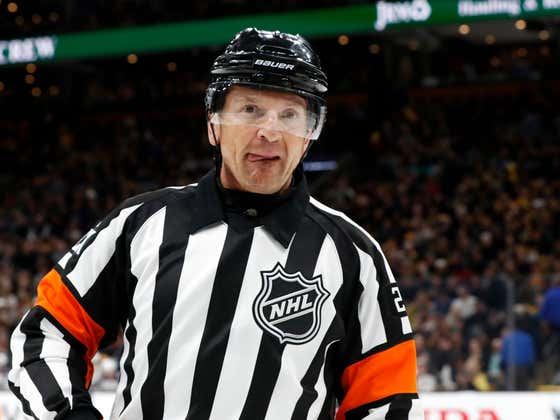 The NHL Has Sent Referee Tim Peel To Early Retirement After His Hot Mic Make Up Call Incident