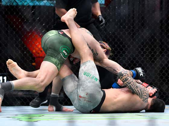 'Suga' Sean O'Malley Just Put Thomas Almeida's Skull Into The Crust Of The Earth With A Punch From Space