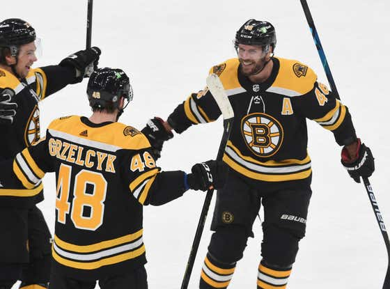 The Bruins Erase A Two Goal Deficit In The Third, Beat Devils In A Shootout To Earn Two Massive Points