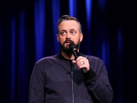 Nate Bargatze Says There Was One Joke He Told On The Joe Rogan Experience That Didn't Land AT ALL