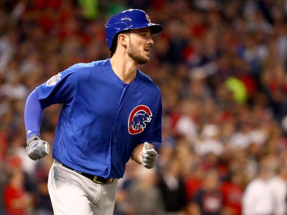 "Kris Bryant Is Going To Want A ""Change of Scenery"" So That Sucks"