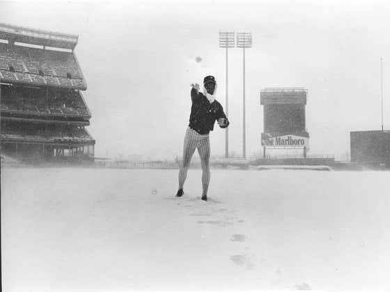On This Date in Sports April 6, 1982: Snow Day