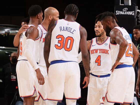 "The Knicks Are Not Worried About The Nets Big 3 Because The Knicks Have A ""Big 15"" According To Julius Randle"
