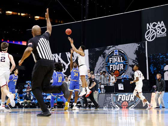 A Marketing Group Thinks Jalen Suggs Would Be Paid A Ho-Hum 6 Figures After Hitting The Buzzer Beater, If You Know, NIL Was A Thing