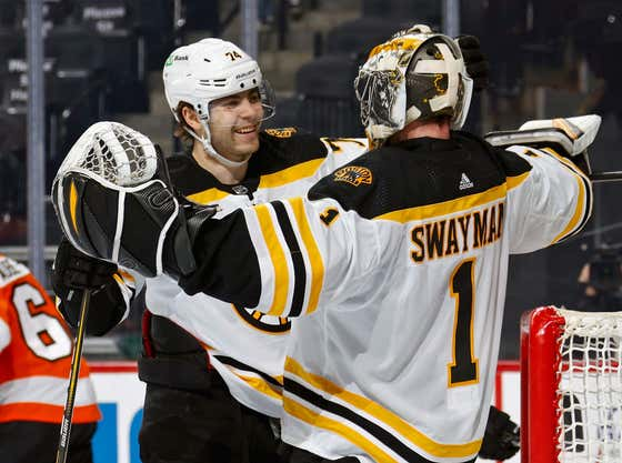 The Bruins Got A Glimpse At The Future As Jeremy Swayman Made 40 Saves In His NHL Debut