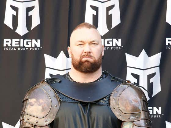 The Mountain From 'Game Of Thrones' And His Bitter Rival Are Having A Boxing Match Because They Won't Stop Accusing Each Other Of Cheating At Weightlifting