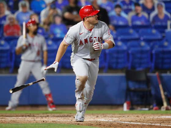 Mike Trout Hit A Home Run So Far Last Night That It Hit An Elementary School