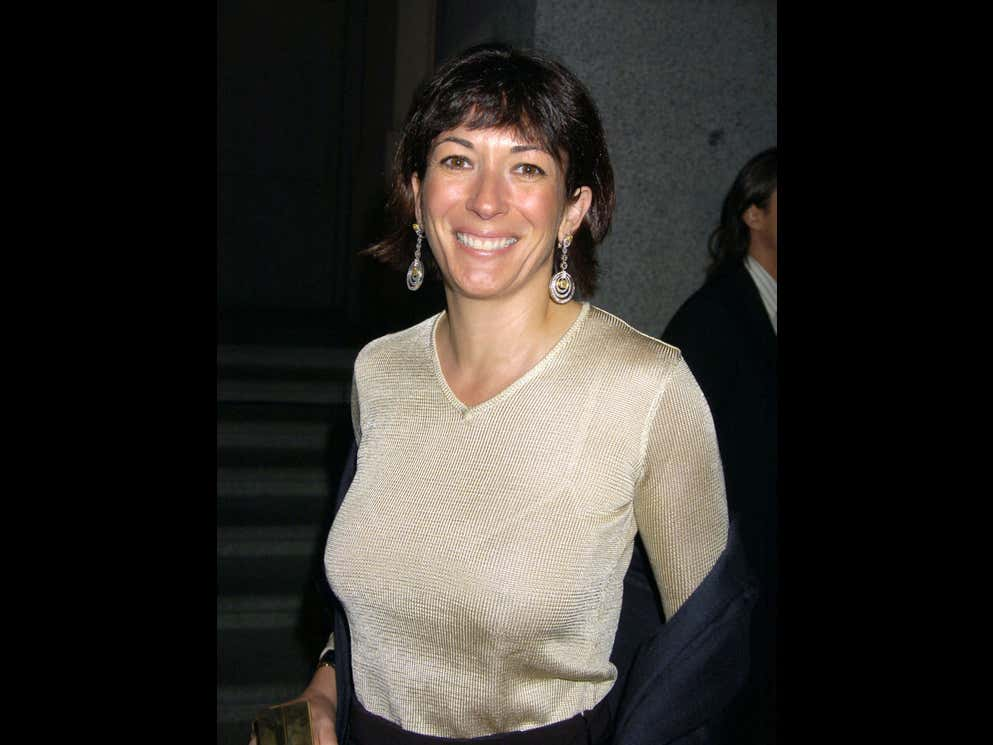 Is It Any Surprise That Ghislaine Maxwell Takes Monster Dumps And Doesn't Flush The Toilet After? Get This Lady A Poop Knife.