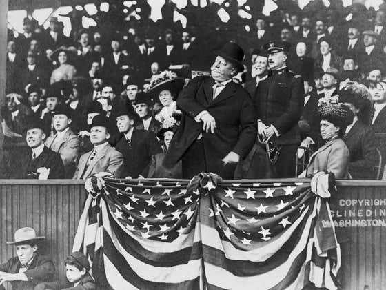On This Date in Sports April 14, 1910: Presidential Stretch