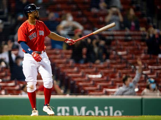 Xander Bogaerts Hadn't Homered Yet This Season, So He Launched A Three-Run Bomb To Win The Game