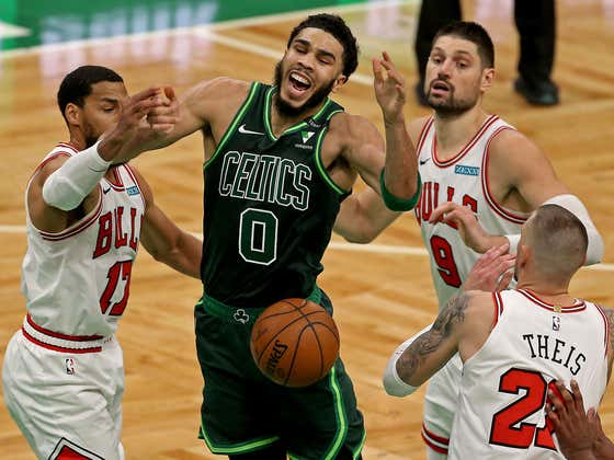 The Hospital Celtics Lost To The Bulls Which Is Bad, But Everyone Take A Deep Breath