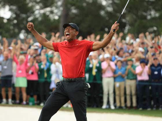 The One Thing You Can't Ever Do Is Doubt Tiger Woods