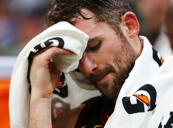 Kevin Love Appears To Be Suffering From A Serious Heart Condition: He Doesn't Have One