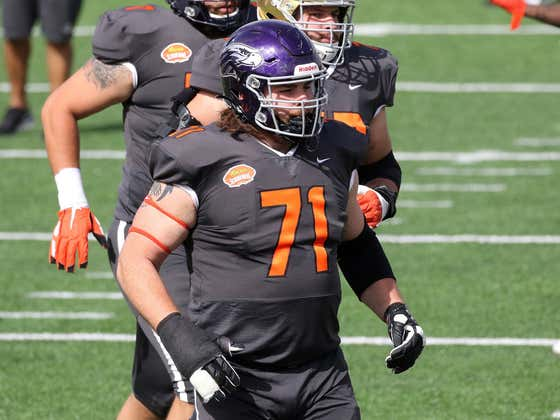 """Wisconsin Whitewater's Quinn Meinerz Would """"Love To Snap To Big Ben"""""""