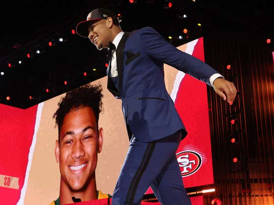 After Going To The Tape One Thing Is Clear - The 49ers 100% Took The Wrong Quarterback At No. 3 Last Night