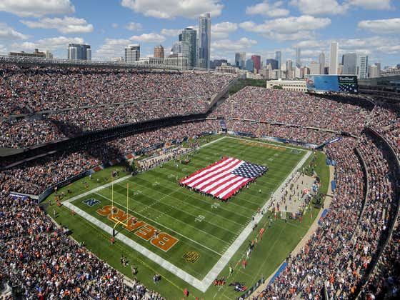 NOT A JOKE: The Chicago Bears Might Be Changing Their Name To The Arlington Park Bears And Leaving Soldier Field.