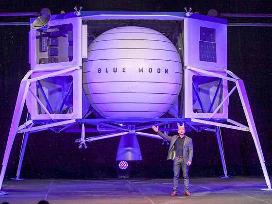 The First Passenger Space Flight Has Opened For Bidding Upon Evil Villain Jeff Bezos' Blue Origin Spaceship