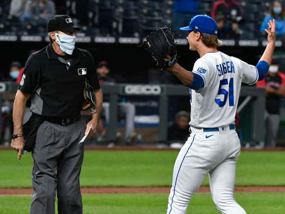 Brady Singer Got To Live Out Every MLB Fan And Player's Dream When He Screamed In Angel Hernandez's Face After Getting Taken Out Of The Game