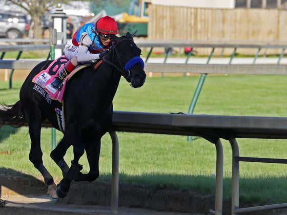 Bob Baffert Claims A Man Taking Cough Medicine Peed On The Hay In Medina Spirit's Stall And The Horse Ate The Hay, Causing A Positive Test