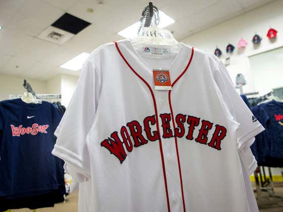 It's A Landmark Day In Worcester, Massachusetts As The WooSox Play Their First Home Game In Team History At Polar Park