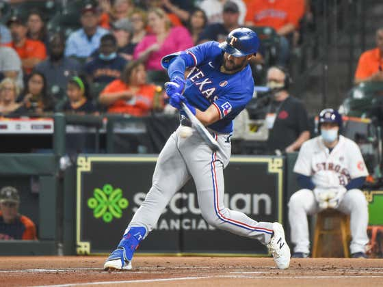 Joey Gallo Was Being Heckled And Responded In The Only Way He Knows How, Hitting A Bomb.