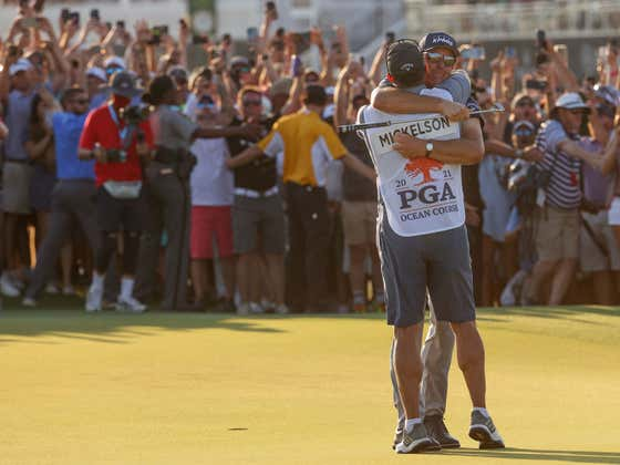 A Sorta-Drunk Phil Mickelson On Twitter After Winning The PGA Championship Is The Best Phil Mickelson