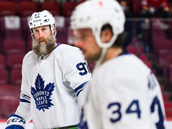 Joe Thornton Needs To Lawyer Up And Sue The Maple Leafs After Toronto Blew A 3-1 Series Lead