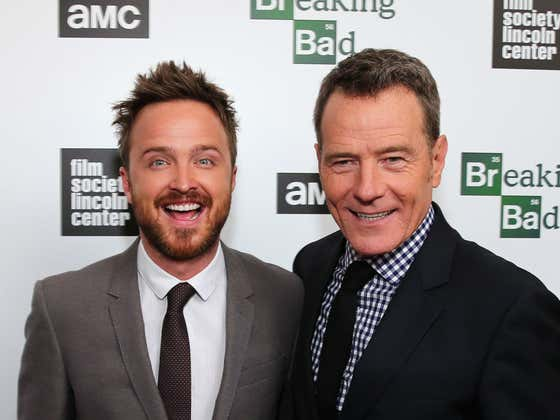 Bryan Cranston and Aaron Paul Spent Memorial Day Weekend Drinking Their New Tequila With Practically Every Single Person in the Hamptons