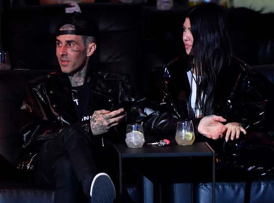 Travis Barker Liked This Shady Comment About Scott Disick's New Girlfriend Amelia Gray