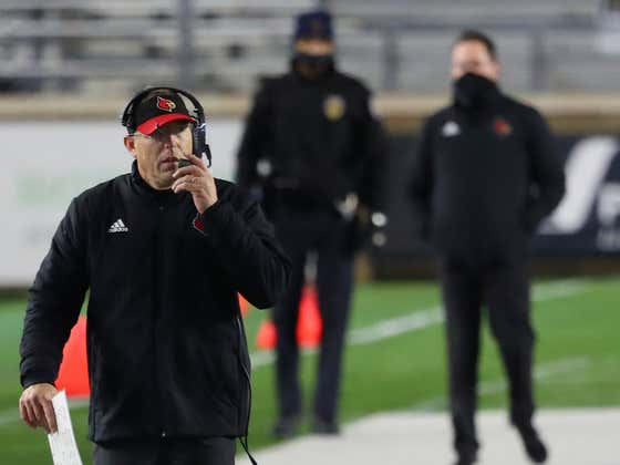 In Today's Version Of Louisville Athletics Is A Joke - QB Transfers A Month After Joining Program, Football Coach Says They Still Need A QB, WR, Safety And Maybe A RB