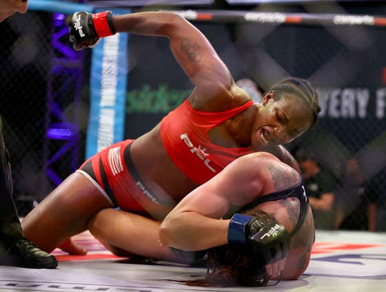 Boxing Superstar Claressa Shields Wins Her MMA Debut