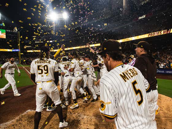 The Padres Put On A Show For Their Return To Full Capacity