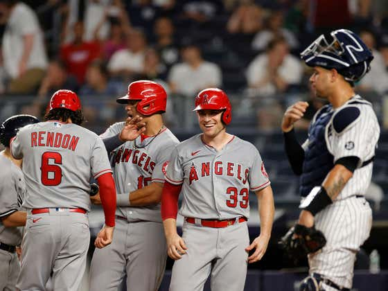 Rock Bottom Finds a New Level: Angels Put Up a 7 Spot In The 9th To Hand The Yankees One Of Their Worst Regular Season Losses In Years