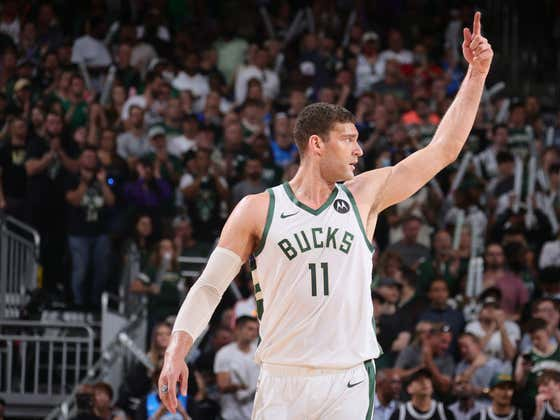 These NBA Playoffs Have Been So Bizarre We Even Saw Brook Lopez Turn Into Prime Shaq