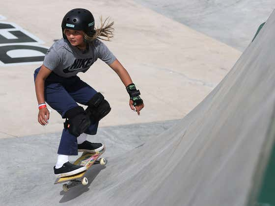 This 13-Year-Old Skateboarder Sky Brown Heading To The Olympics For Great Britain Is An Absolute Beast