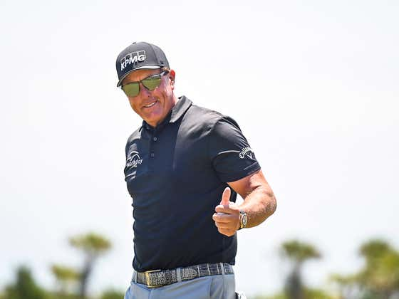 Phil Mickelson Says He's Scared And Doesn't Think He Could Beat Us In A Scramble