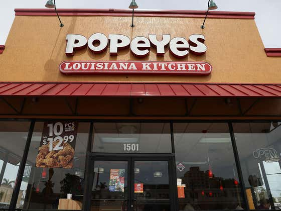 Popeyes Doesn't Give A Damn About A Nationwide Chicken Shortage, Been Stockpiling Chicken For Months To Finally (!!!) Sell Nuggets