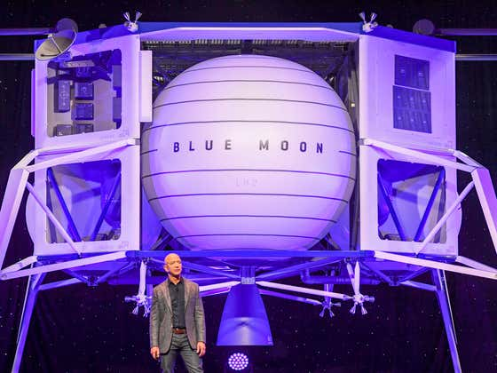Power Move - The Person Who Paid $28 Million To Fly To Space With Jeff Bezos Backed Out Because They Are 'Too Busy' To Go