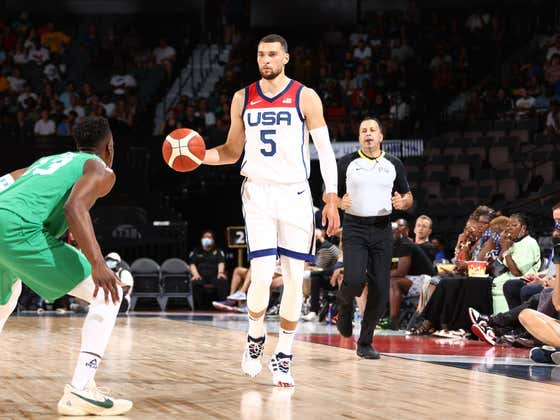 Zach LaVine Is Now The Latest Member Of Team USA To Be Placed In Health & Safety Protocols