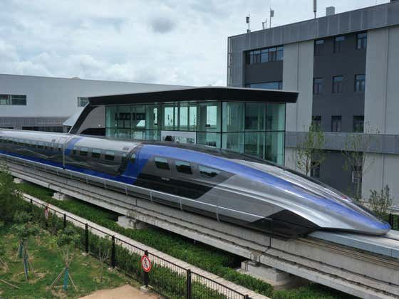 China Just Unveiled a Brand New Levitating Super Bullet Train That Goes Over 370 MPH