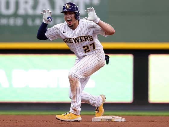 Willy Adames Has Turned The Brewers Into A Wrecking Machine