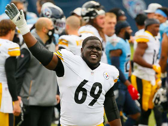 Kevin Dotson Reported To Steelers Camp In A Jerome Bettis Super Bowl XL Jersey And I Already Feel Better About The O-Line