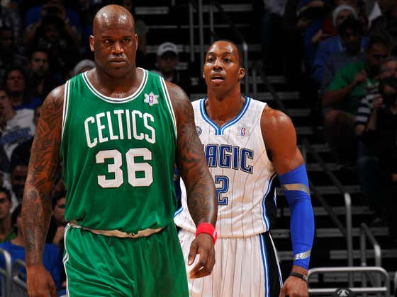 Shaq Won't Ever Stop Tormenting Dwight Howard For No Damn Reason And That's A Promise