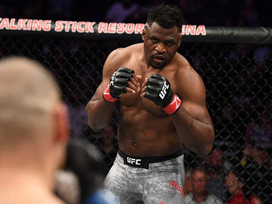 UFC Heavyweight Champ Francis Ngannou Apparently Punches Someone In The Balls (TWICE!) In Jackass 4