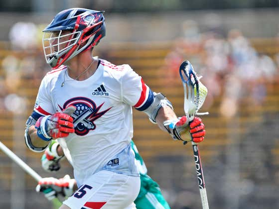 2x Former Lacrosse Player Chris Hogan Proves Once And For All That It's Easier To Play Pro Football Than Pro Lacrosse