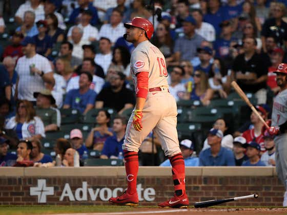 Joey Votto Broke Out Jamie Tartt's Goal Celebration From 'Ted Lasso' Because He Was Pissed That The Reds Manager Called Him Roy Kent