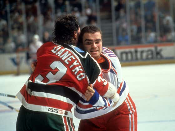 Ken Daneyko Head-Butted Tie Domi In The Club After Losing $100 Arm Wrestling Bet To Him
